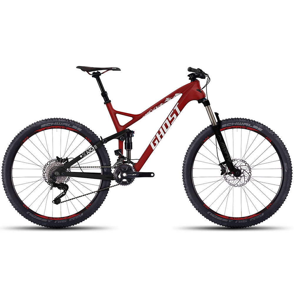 Bicicleta de doble suspensión Ghost SLAMR 8 LC 2016
