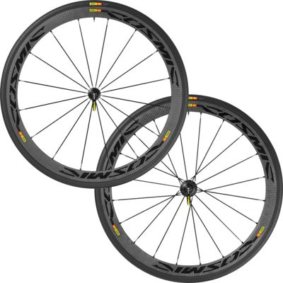 Roues route Mavic Cosmic Carbone 40 2016