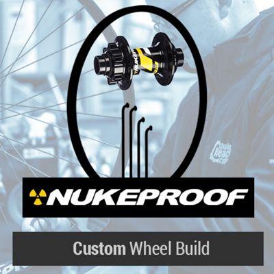 Roue avant VTT Nukeproof Generator personnalisée