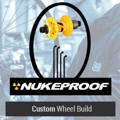 Roue arrière VTT Nukeproof personnalisé 2016