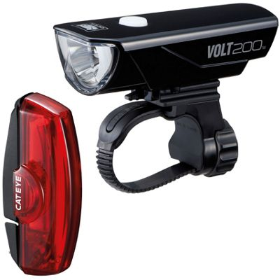 Kit lumière Cateye Volt 200 / Rapid X RC