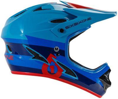 Casque 661 Comp Bolt - Rouge/Bleu 2017