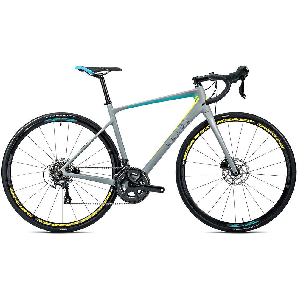Bicicleta de carretera de disco de mujer Cube Axial WLS GTC SL 2016
