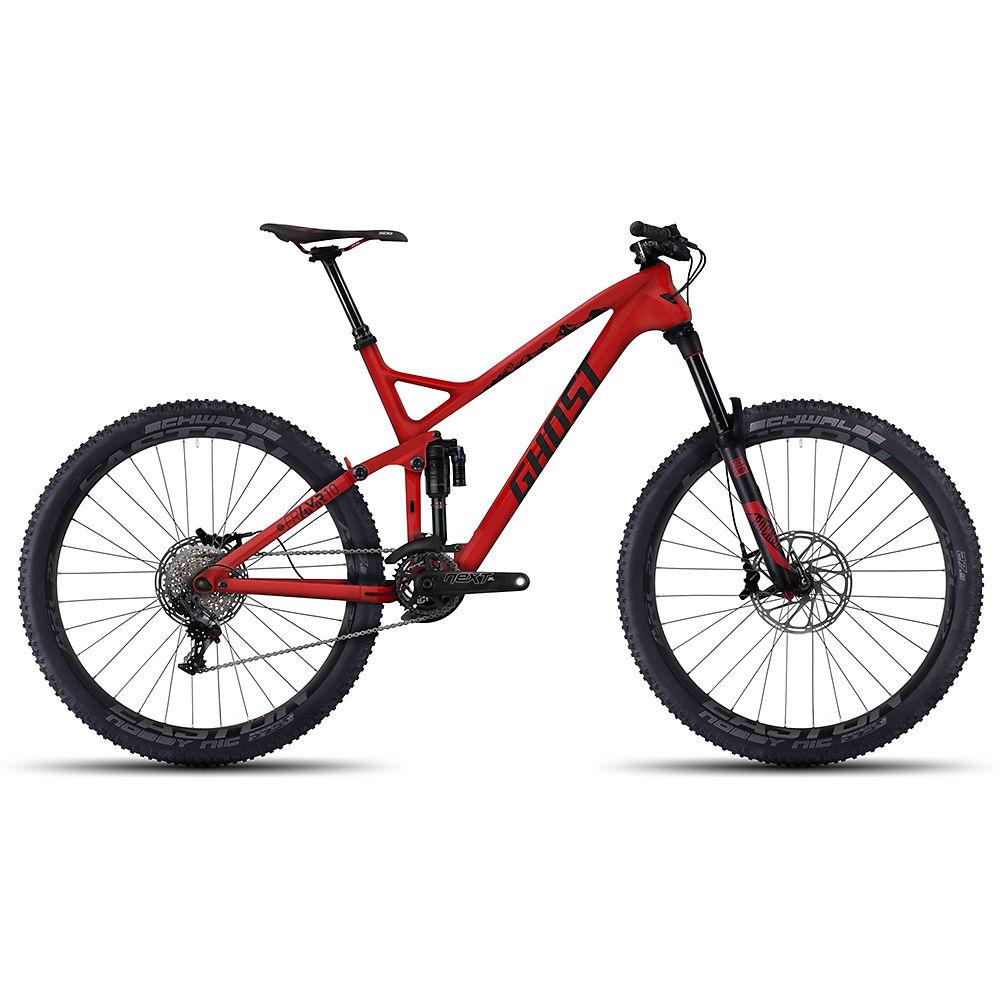 Bicicleta de doble suspensión Ghost FR AMR LC 10 2016