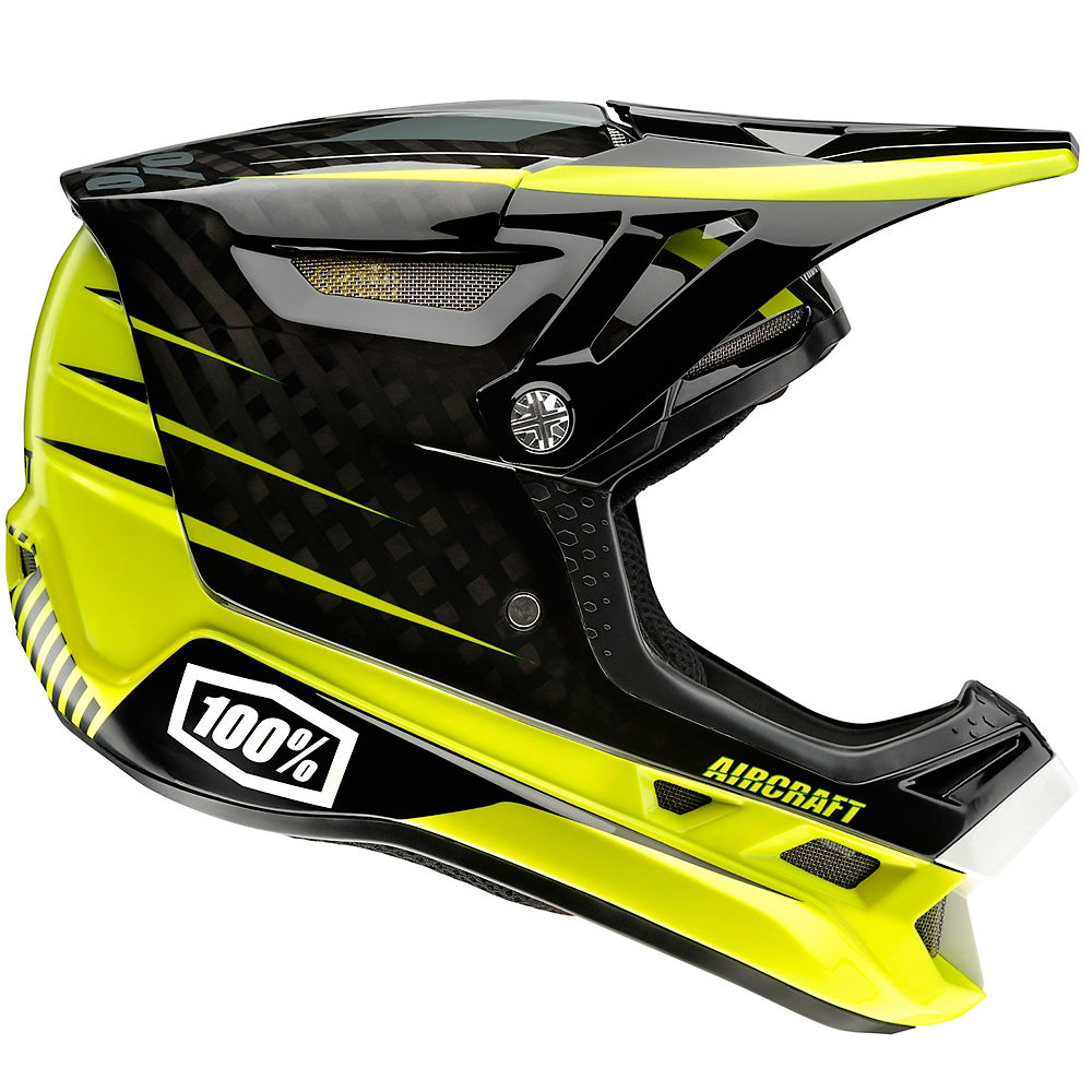 Image of 100% Aircraft Carbon DH Helmet - Basetech