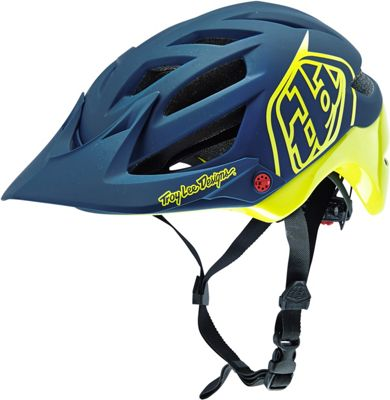 Casque Troy Lee Designs A1 - Drone Navy/Jaune 2016