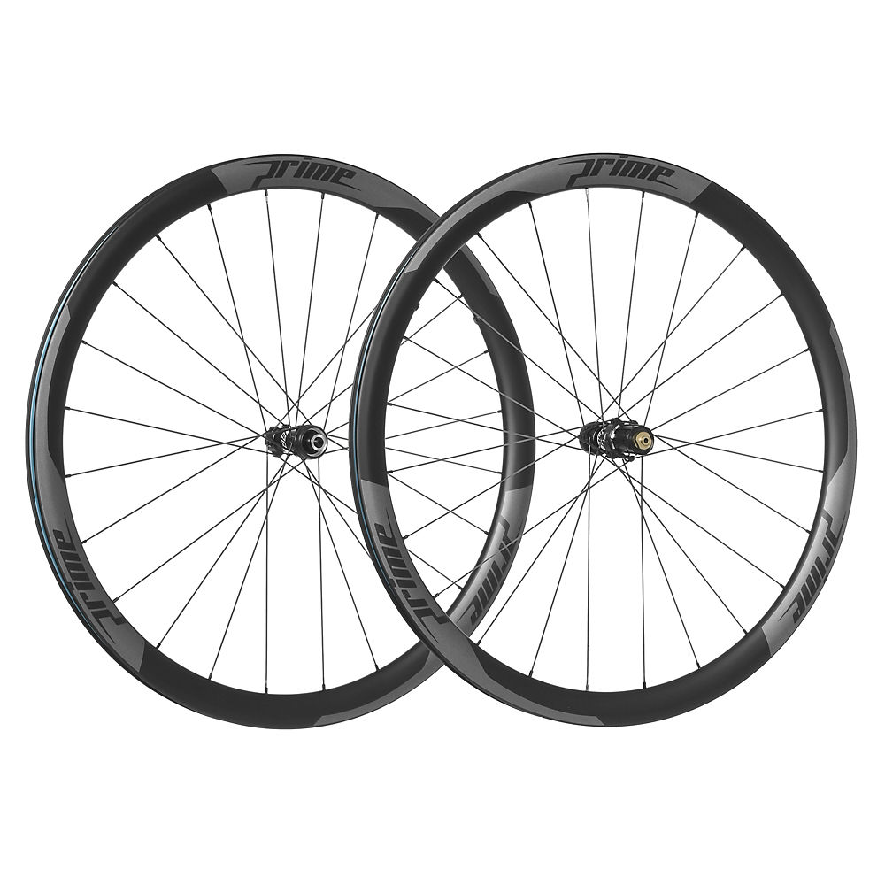 Juego de ruedas de carretera de carbono Prime RP-38 (de disco - de cámara)
