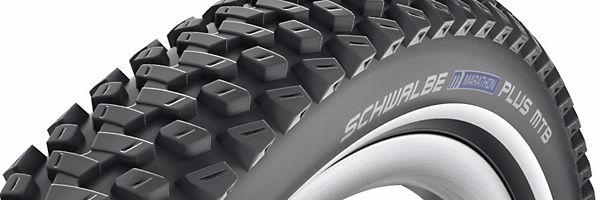 "Schwalbe Marathon Plus MTB SmartGuard Wired Mountain Bike Tyre 26 x 2.10/"""