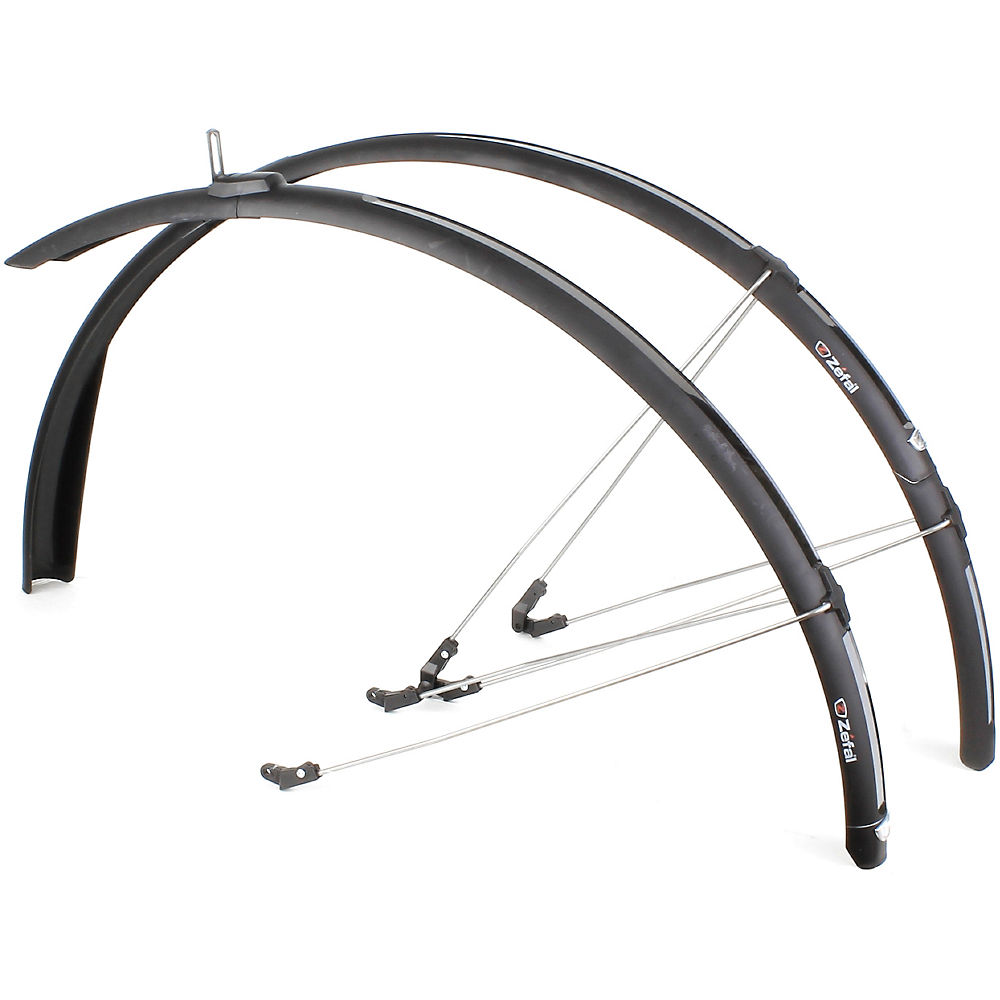 40mm ZEFAL PARAGON C40 26//28 ROAD BIKE CYCLE FRONT REAR MUDGUARD SET