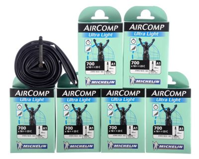 Chambre à air Michelin A1 AirComp Ultralight 60mm - Pack de 6
