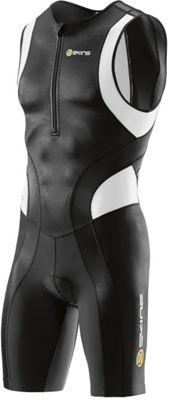 Combinaison triathlon Skins TRI400 sans manches zip avant
