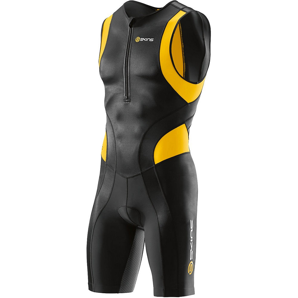 Skins TRI400 Sleeveless Tri Suit w Front Zip Review