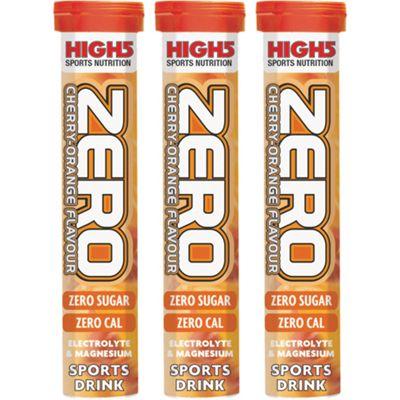Nutrition High5 Zero - Cerise/orange - Pack de 3
