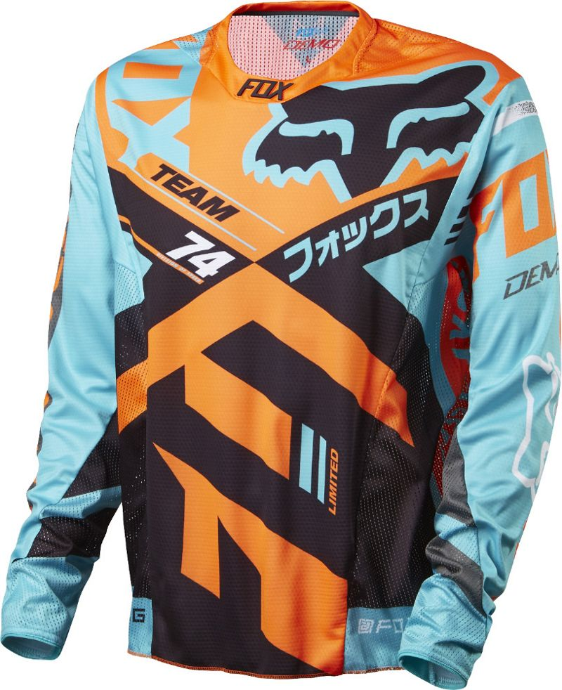 Fox Racing Demo Long Sleeve Jersey SS16