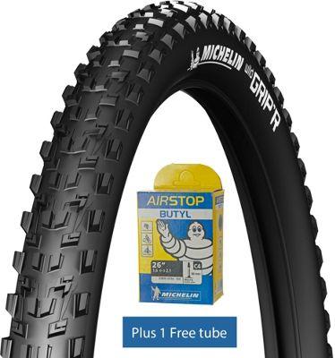 Pneu Michelin Wild Grip'R2 Tyre 26 x 2.1 + chambre en air GRATUITE