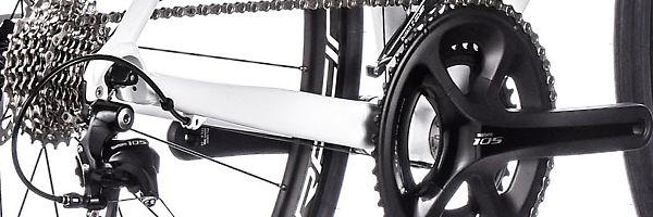 Vitus Bikes Zenium VR Disc Road Bike: Shimano 105 Groupset