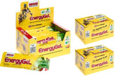 Gels énergétiques High5 - Pack de 3 boites - Pomme
