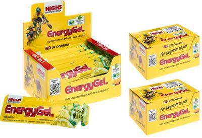 Gels énergétiques High5 - Pack de 3 boites - Citron