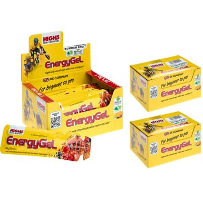 Gels énergétiques High5 - Pack de 3 boites - Fruits exotique
