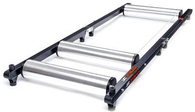 Turbo Trainers Jet Black R1 Alluminium Rollers + app lite