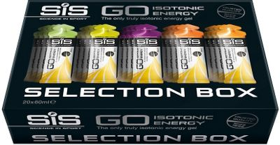 Boite gels énergétiques Science In Sport Go Isotonic Energy