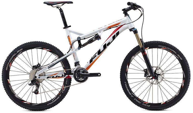 Fuji Reveal 1.1 Suspension Bike 2013