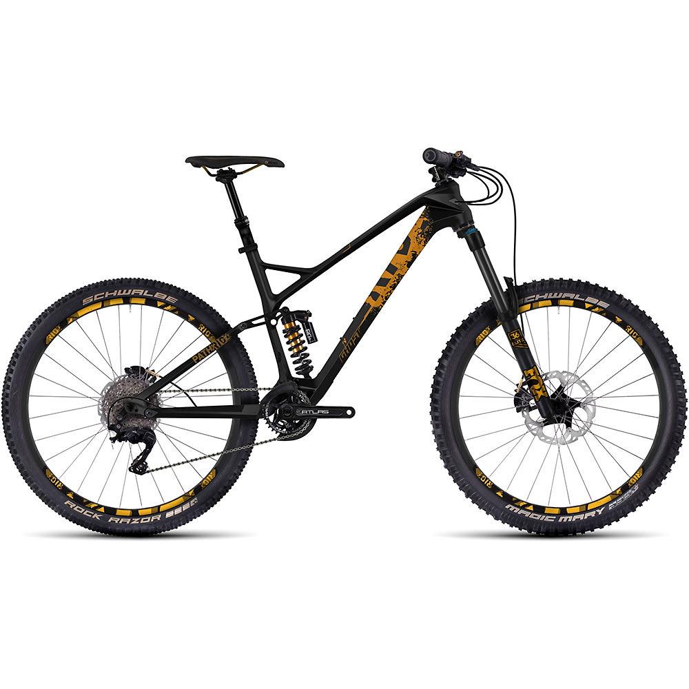 Bicicleta de suspensión de carbono Ghost Path Riot 8 2017