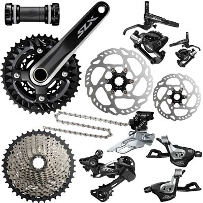 Groupe complet Shimano SLX 3x10