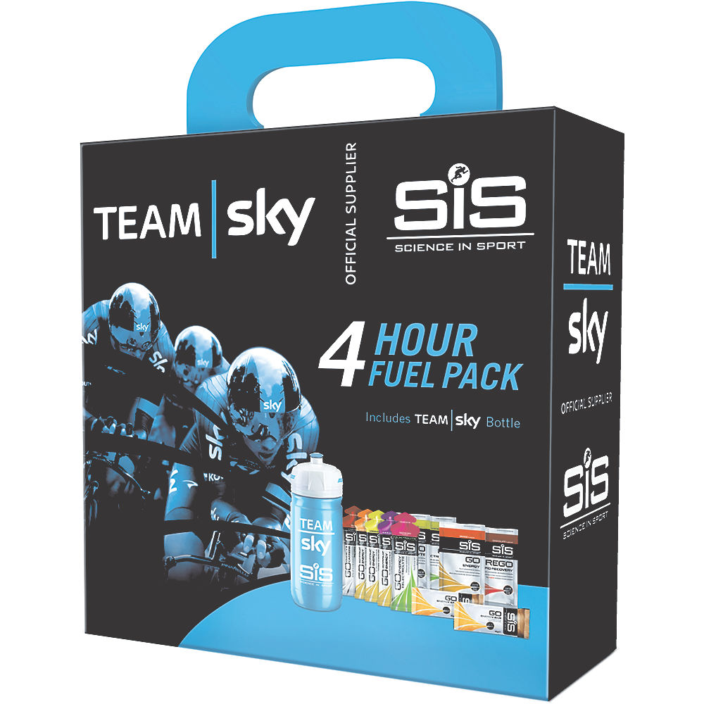 Pack de alimentación Science In Sport Team Sky 4 horas