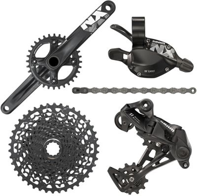 Groupe complet SRAM NX 1x11 vitesses - BB30