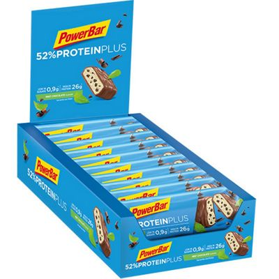 Barres PowerBar Protéines Plus 52% 50g x 24
