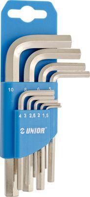 Kit de clés Unior Hexagone
