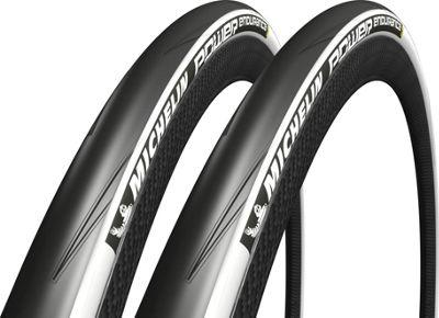 Pneu Michelin Power Endurance - Blanc 25c PAIR