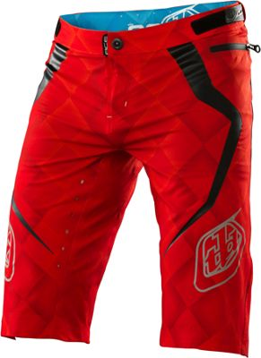 Short Troy Lee Designs Ace Elite Rouge 2015