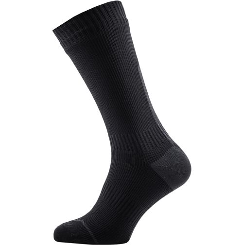 0N3A Sealskinz Mtb Mid Sock With Hydrostop Anthracite Satisfactory