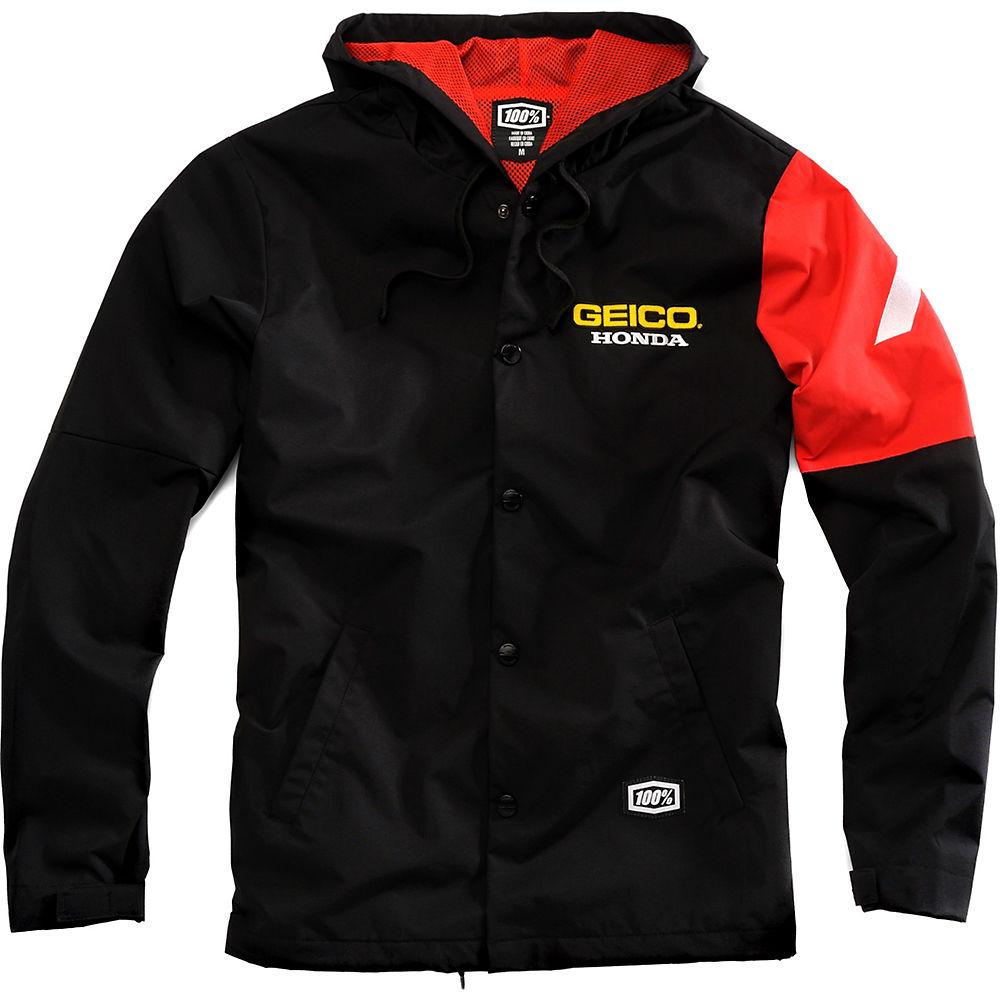 Product image of 100% Geico Honda Flux Hooded Jacket