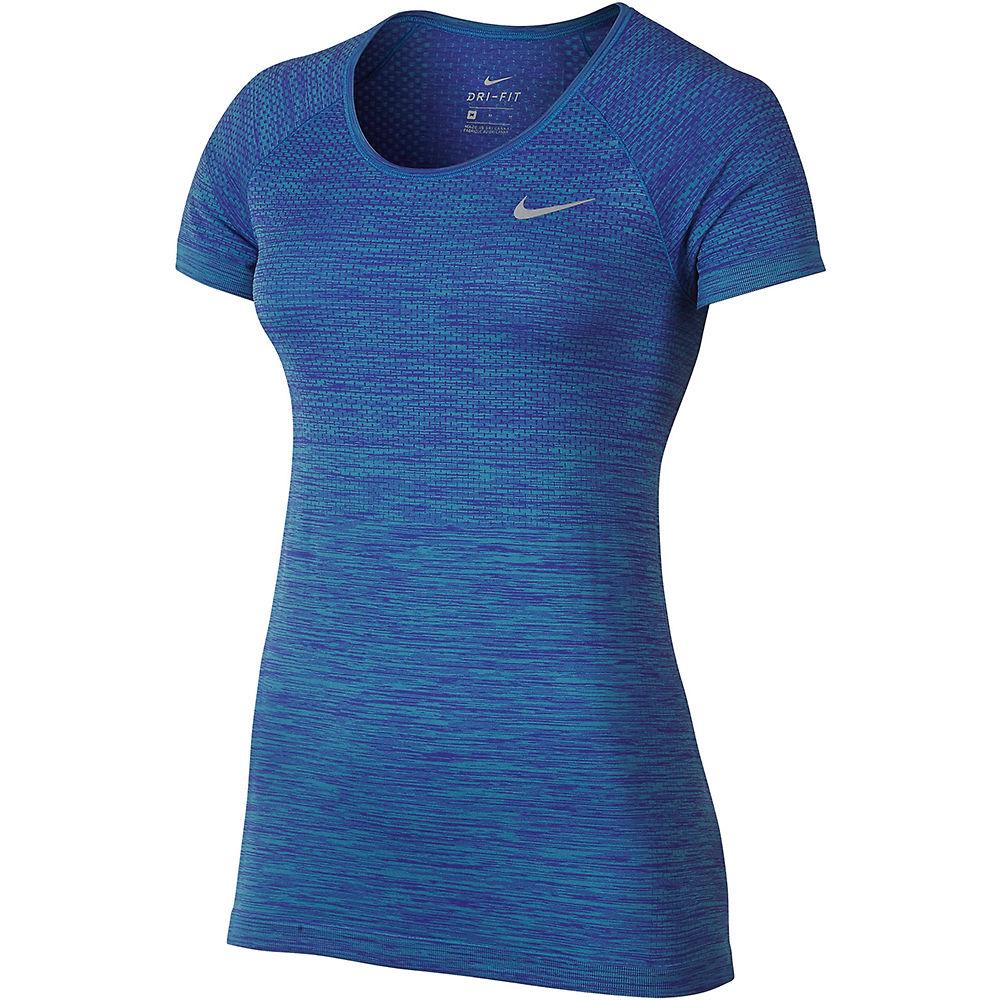 Camiseta de manga corta de mujer Nike Dri-FIT Knit SS17