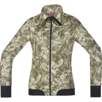 Veste Gore Power Trail Print WS SO Femme