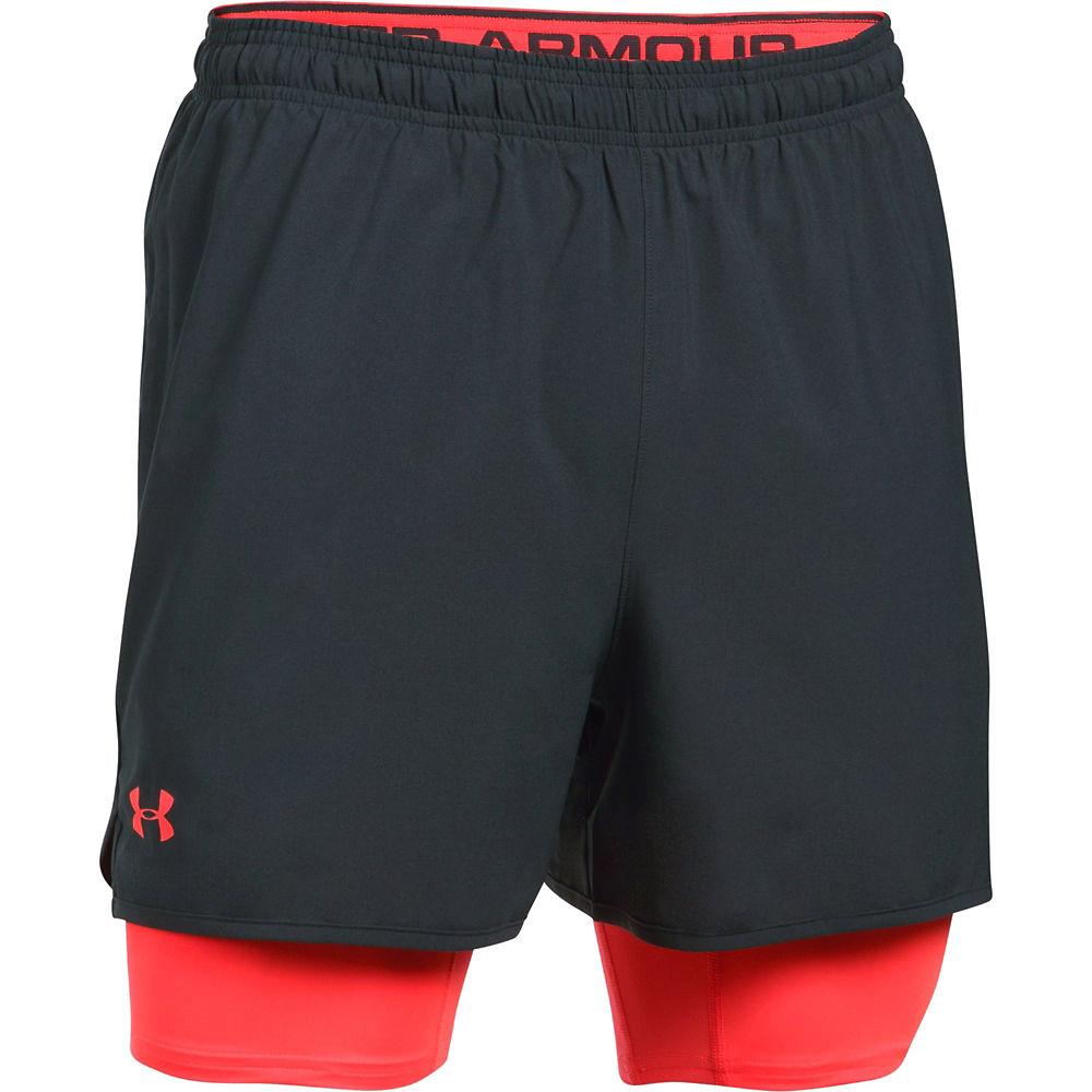 Shorts Under Armour Qualifier 2-en-1 SS17