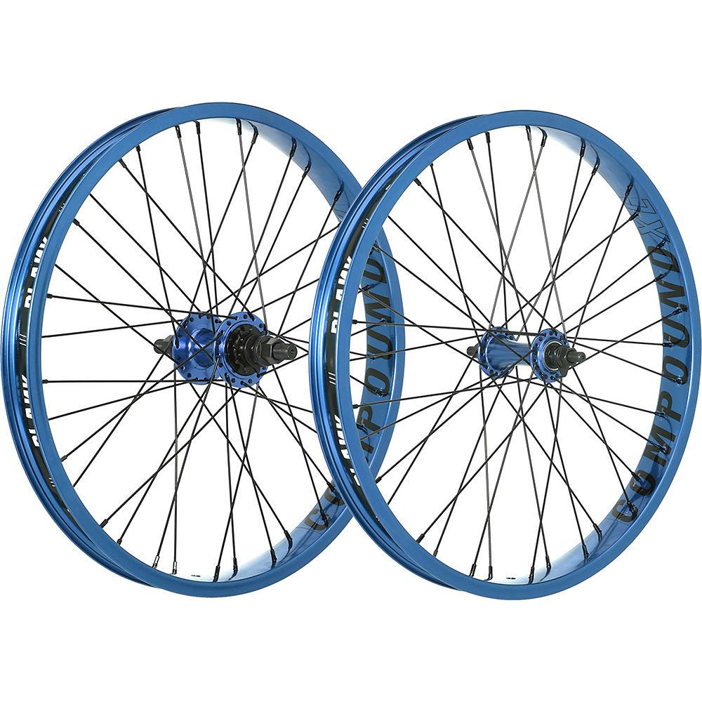 Juego de ruedas de BMX Blank Compound XL