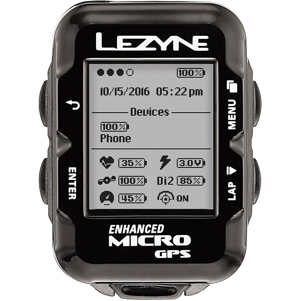 Ciclocomputador GPS Lezyne Micro