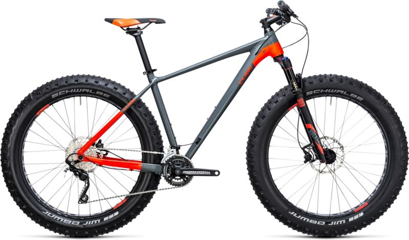 Cube Nutrail Fat Bike 2017