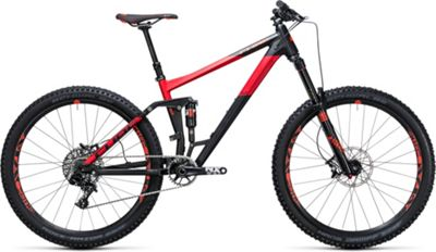 VTT à suspensions Cube Stereo 160 HPA Race 27.5 2017