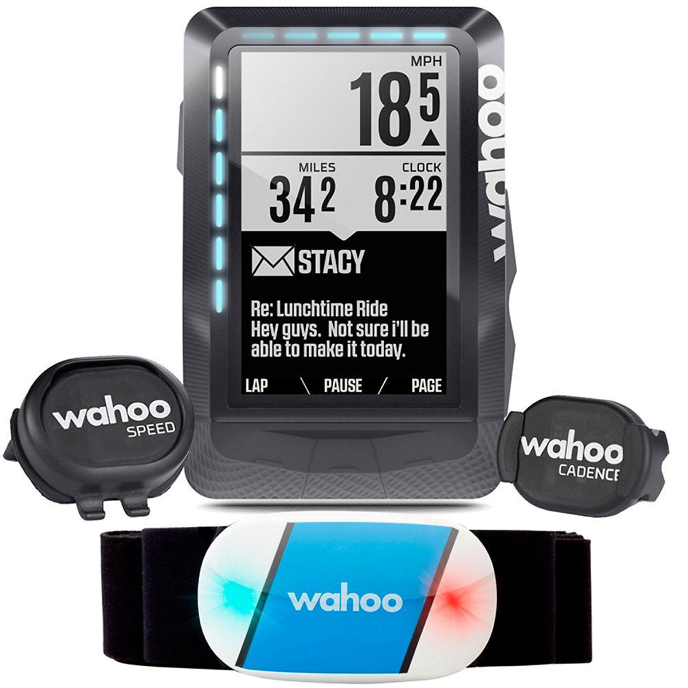 Conjunto de ciclocomputador GPS Wahoo ELEMNT