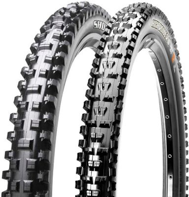 Pneus Maxxis Shorty & High Roller II Combo