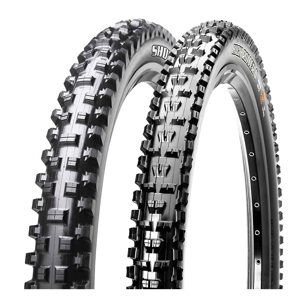 maxxis-shorty-high-roller-ii-mtb-tyre-combo