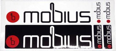 Autocollants Mobius Team