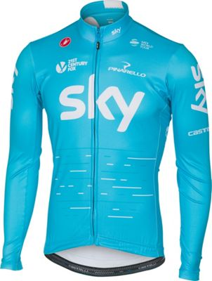 Maillot Castelli Team Sky Thermal (manches longues) 2017