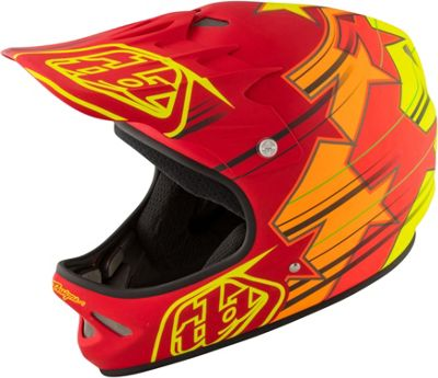 Casque Troy Lee Designs D2 - Fusion Rouge 2017