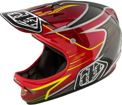 Casque Troy Lee Designs D2 - Pulse Rouge 2017